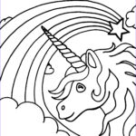 Unicorn Coloring Book Elegant Photography Free Printable Unicorn Coloring Pages For Kids