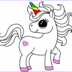 Unicorn Coloring Book Inspirational Stock How To Draw And Colour Unicorn Colouring Pages For Kids