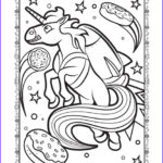 Unicorn Coloring Book Luxury Photos Unicorn In Space Coloring Page