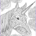 Unicorn Coloring Pages For Adults Awesome Photos Amazon Unicorn Coloring Book Adult Coloring Gift A