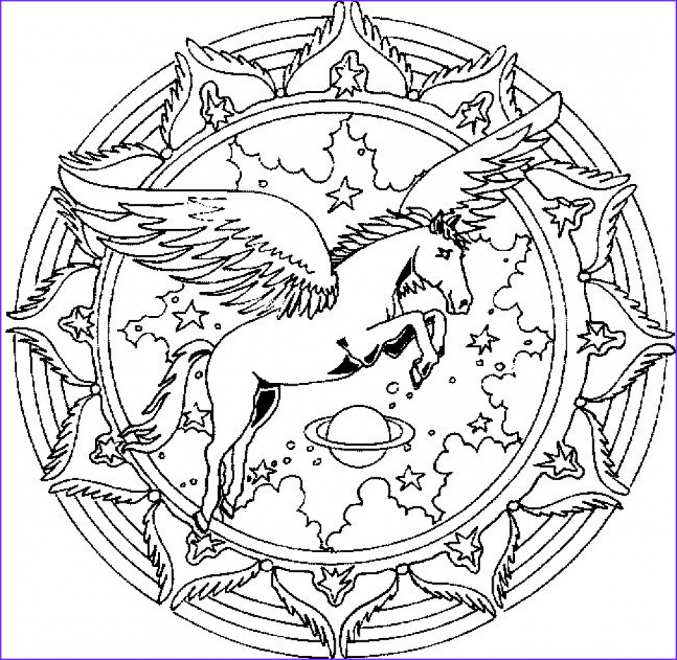 free printable unicorn coloring pages for adults vt739