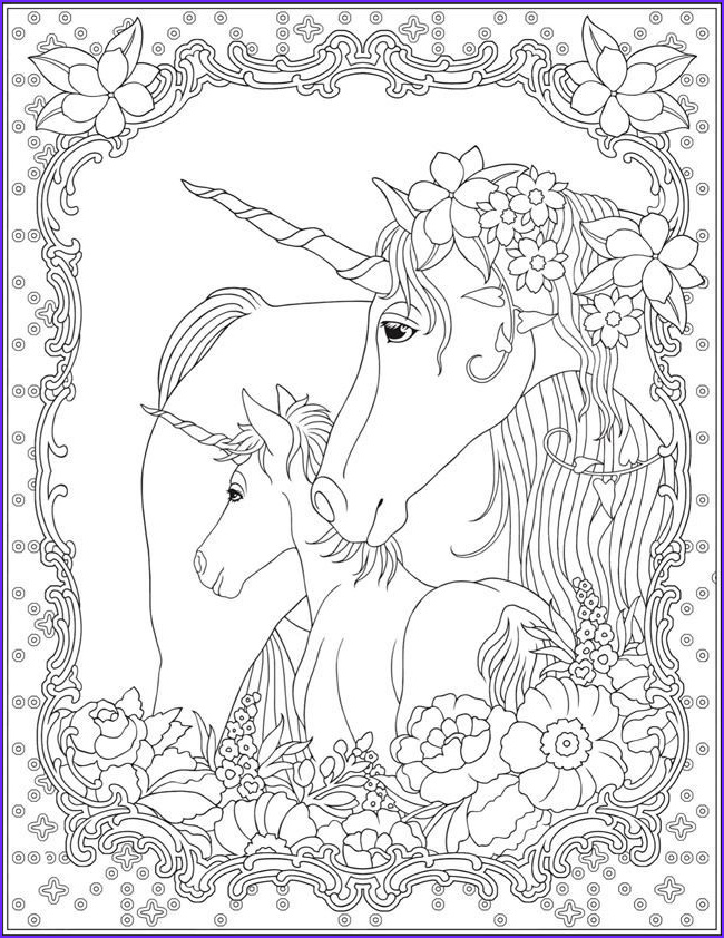 Unicorn Coloring Pages for Adults Awesome Stock Unicorn Coloring Page Unicorn Magic