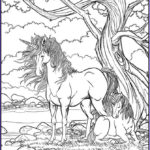 Unicorn Coloring Pages For Adults Luxury Collection Get This Free Printable Unicorn Coloring Pages For Adults