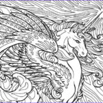 Unicorn Coloring Pages For Adults Luxury Photos 78 Images About Unicorns On Pinterest