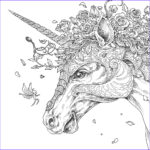 Unicorn Coloring Pages For Adults New Image Ce Upon A Time Mythomorpia Happened Kerby Rosanes
