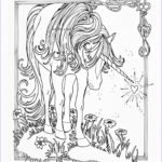 Unicorn Coloring Pages For Adults New Photos Beth S Artworx August 2011