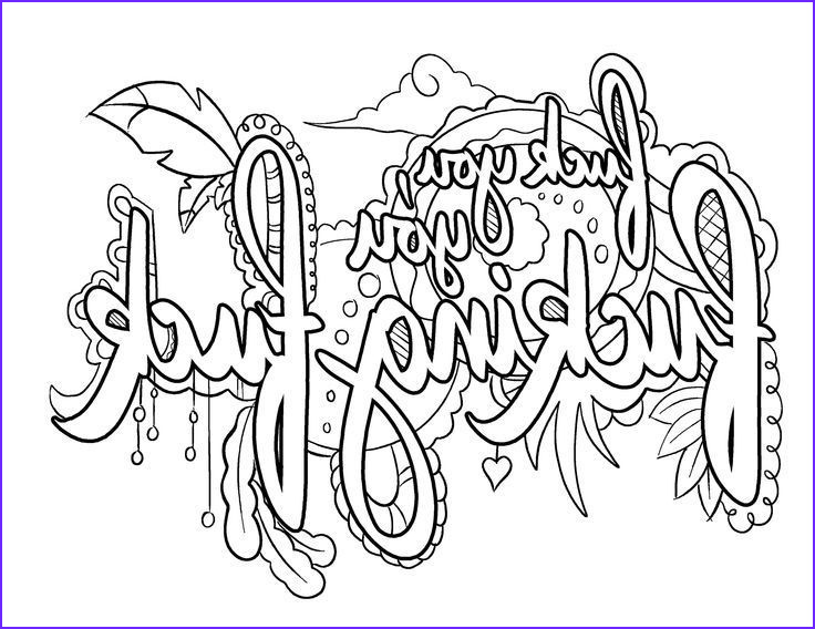 Unique Coloring Pages Inspirational Collection 25 Unique Quote Coloring Pages Ideas On Pinterest