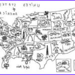 United States Map Coloring Page Cool Photos Us Map Coloring Pages And Coloring On Pinterest