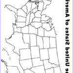 United States Map Coloring Page Elegant Collection Map Of The Usa Coloring Page Kids