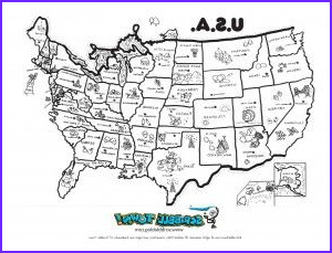 Us Coloring Map Luxury Gallery United States Coloring Page Teacher Stuff