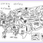 Us Map Coloring Awesome Photos Usa Map Coloring Page Love The Little Symbols
