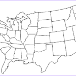 Us Map Coloring Cool Images Free Printable Us Maps For Kids