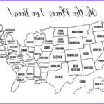 Us Map Coloring New Collection 13 Free Printable Usa Travel Maps For Your Bullet Journal