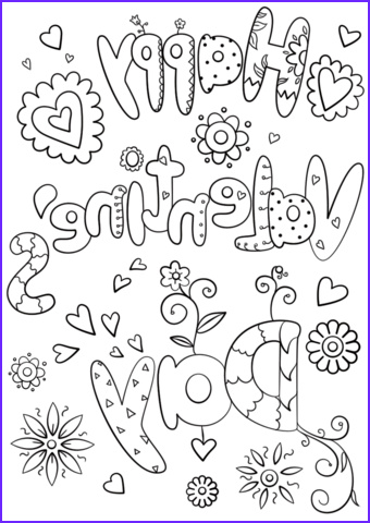 Valentine Coloring Pages Free Awesome Stock Valentines Coloring Pages Happiness is Homemade