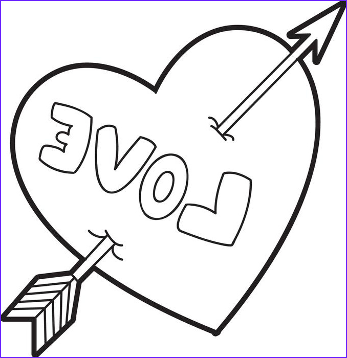 Valentine Coloring Pages Free Elegant Photos Valentine Heart Coloring Pages Best Coloring Pages for Kids