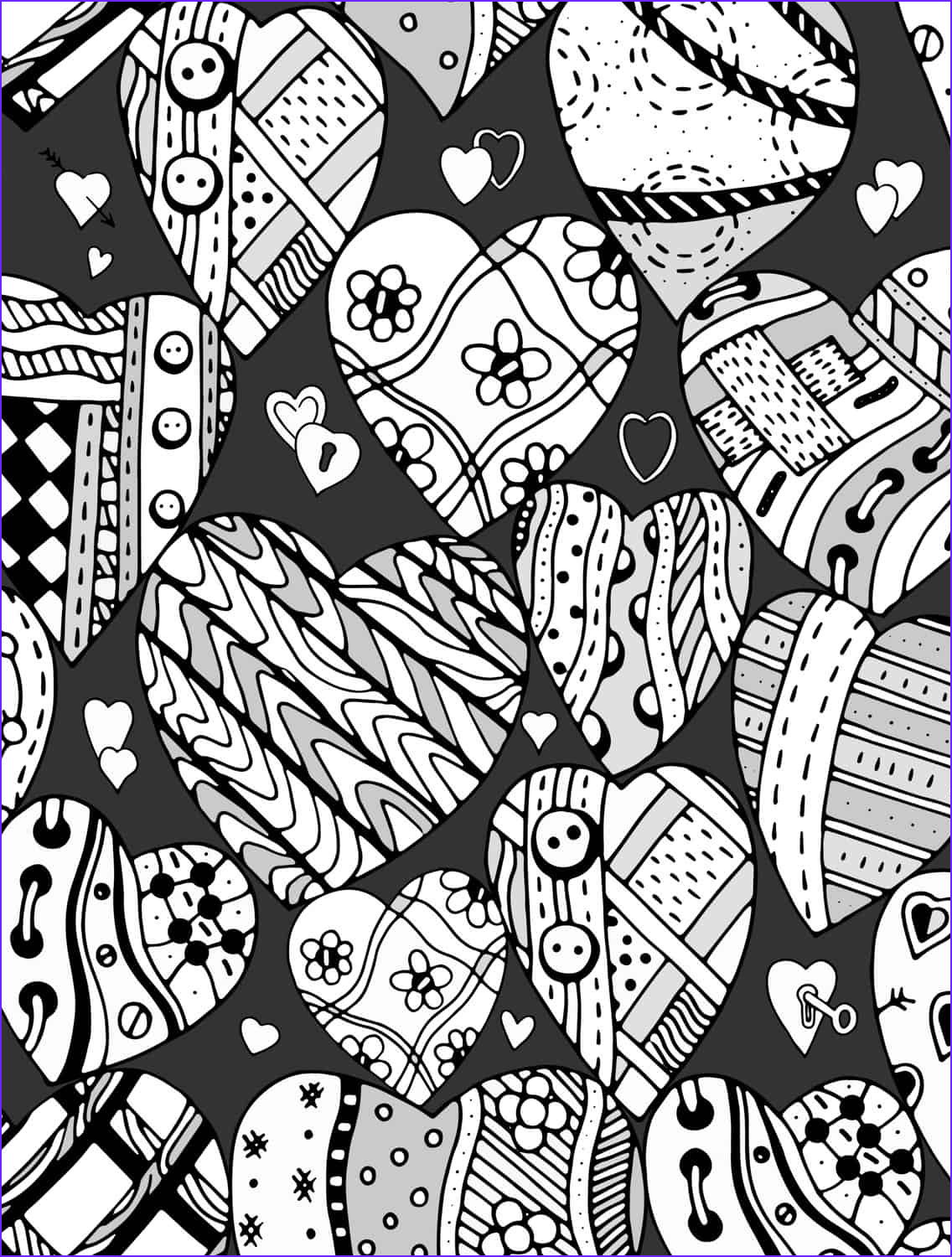 Valentine Coloring Pages Free New Photos 20 Free Printable Valentines Adult Coloring Pages Nerdy