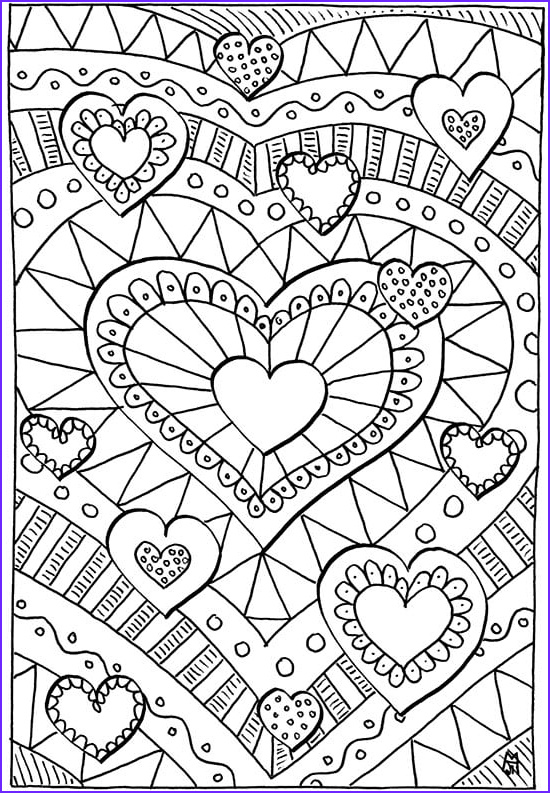 Valentine Coloring Pages Free Unique Gallery Valentines Coloring Pages Happiness is Homemade