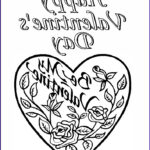 Valentine Day Coloring Pages Printable Awesome Images 8 Valentines Day Coloring Pages
