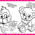 Valentine Day Coloring Pages Printable Best Of Gallery Free Printable Valentine S Day Coloring Pages Crafty Morning