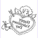 Valentine Day Coloring Pages Printable New Images Free Printable Valentine Coloring Pages For Kids