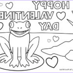 Valentine Day Coloring Pages Printable Unique Photos Hoppy Valentines Day Coloring Page Crafting The Word God