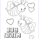 Valentine Day Printable Coloring Pages Beautiful Gallery February Coloring Pages