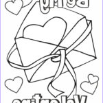 Valentine Day Printable Coloring Pages Best Of Photos Valentine Coloring Page Card