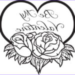Valentines Day Hearts Coloring Pages Beautiful Stock Be My Valentine Coloring Page