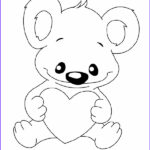 Valentines Day Hearts Coloring Pages Elegant Photos Valentine S Day Coloring Pages Bear With Hearts