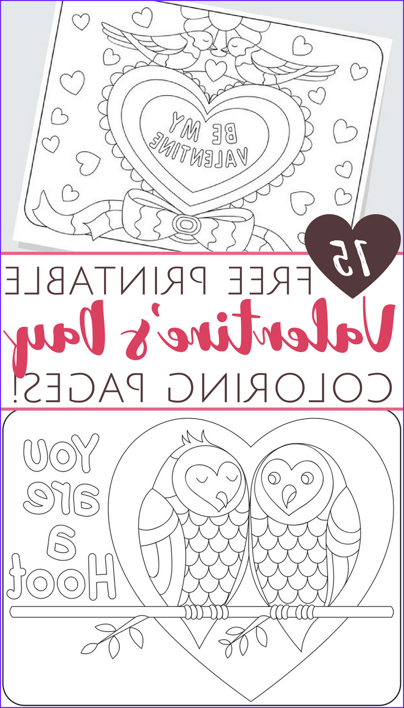 Valentines Printable Coloring Pages Beautiful Collection Free Printable Valentine S Day Coloring Pages for Adults