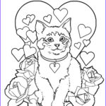 Valentines Printable Coloring Pages Beautiful Stock Valentines Day Coloring Pages August 2010