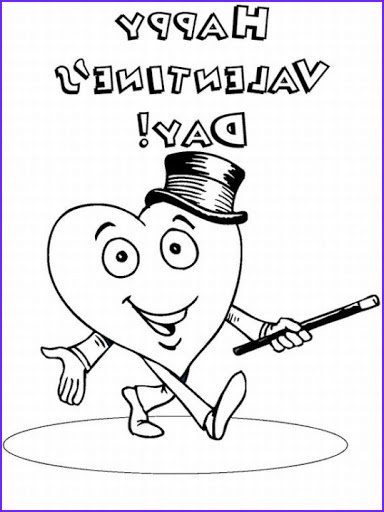 free printable valentines day coloring pages and cards