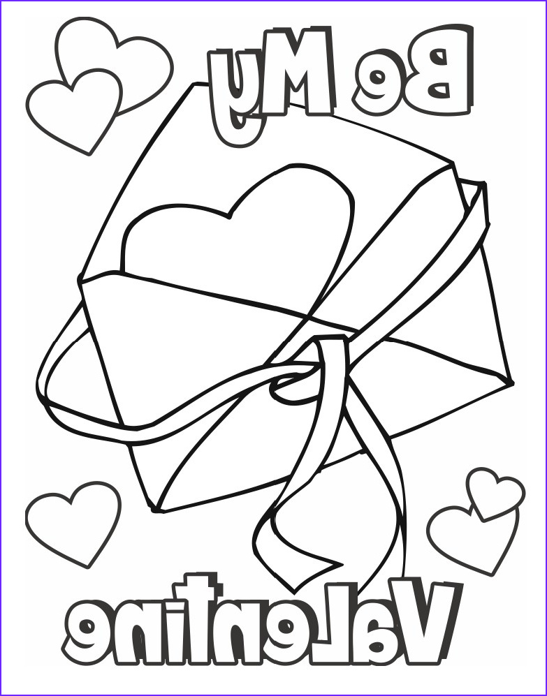 Valentines Printable Coloring Pages Cool Gallery Valentine Coloring Page Card