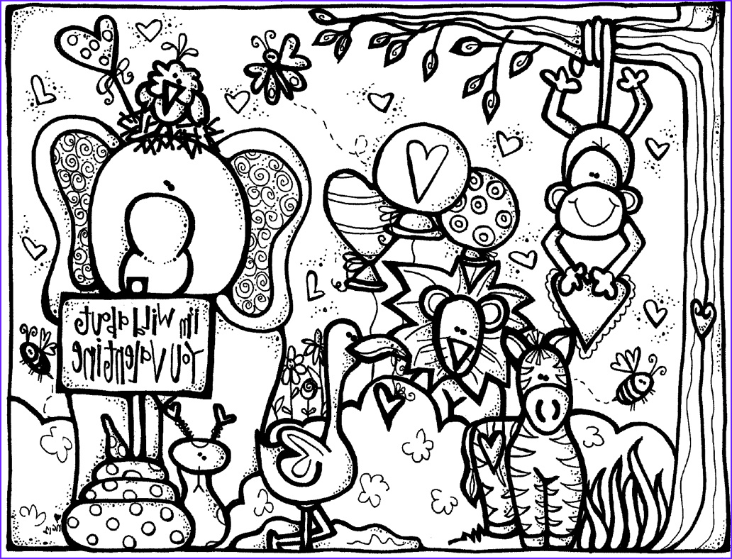 Valentines Printable Coloring Pages Cool Photos Melonheadz Valentine S Day Coloring Page