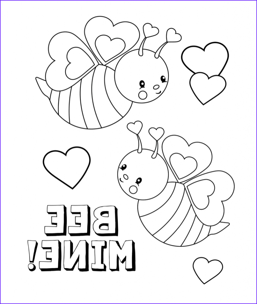 Valentines Printable Coloring Pages Unique Photos February Coloring Pages
