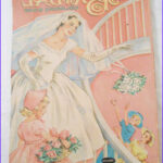 Vintage Coloring Books Awesome Image Whitman Vintage Bride Coloring Book 1960s By Chellestreasure