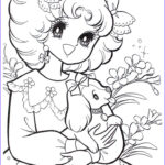 Vintage Coloring Books Awesome Stock Vintage Shojo Coloring Book P5