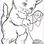 Vintage Coloring Books Best Of Image The Three Little Kittens