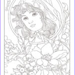 Vintage Coloring Books Elegant Photos 39 Best Images About Fanciful Faces Adult Coloring On