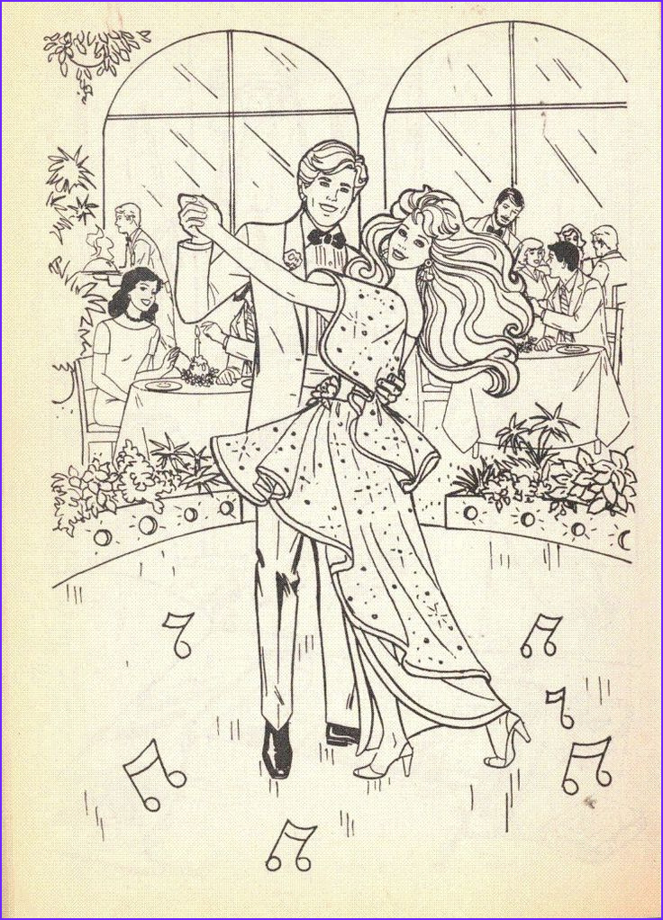 Vintage Coloring Books Luxury Collection Vintage 1992 Barbie Coloring Book by Golden
