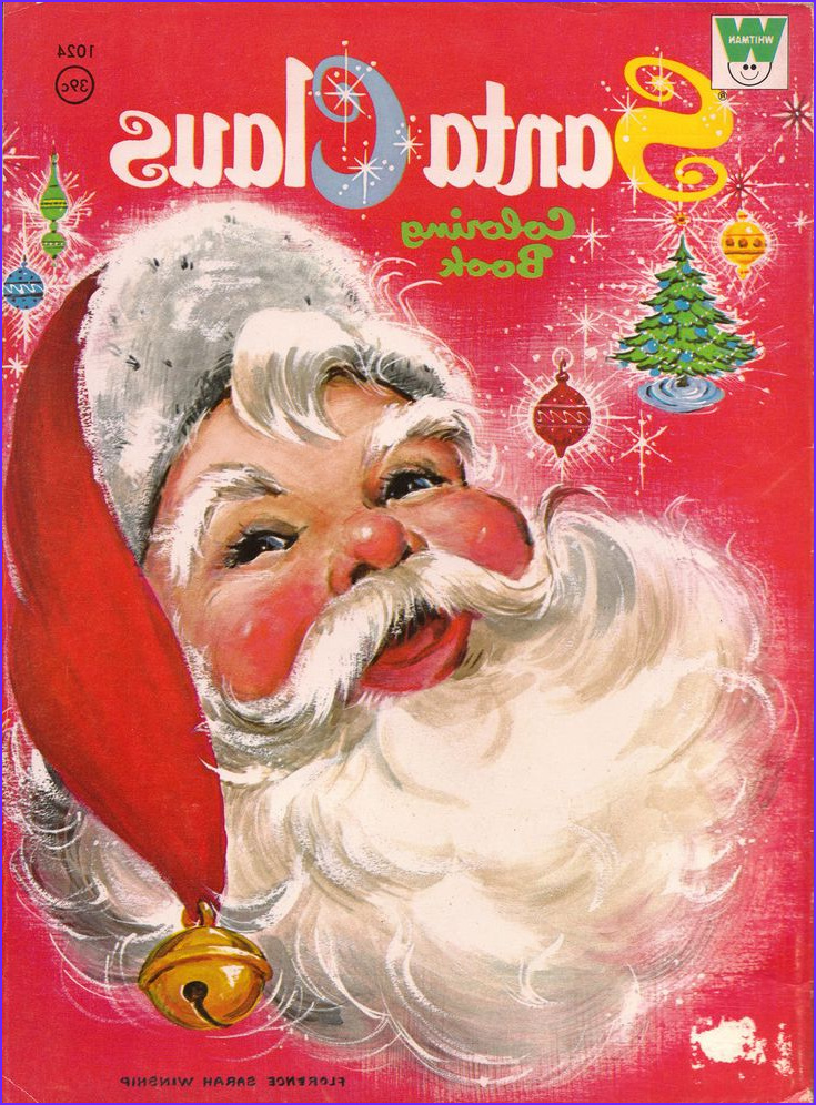 Vintage Coloring Books Luxury Photos Santa Claus Vintage Christmas Coloring Book This Looks