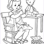 Vintage Coloring Books New Image Favorite Paint Book — Little Girls – Q Is For Quilter