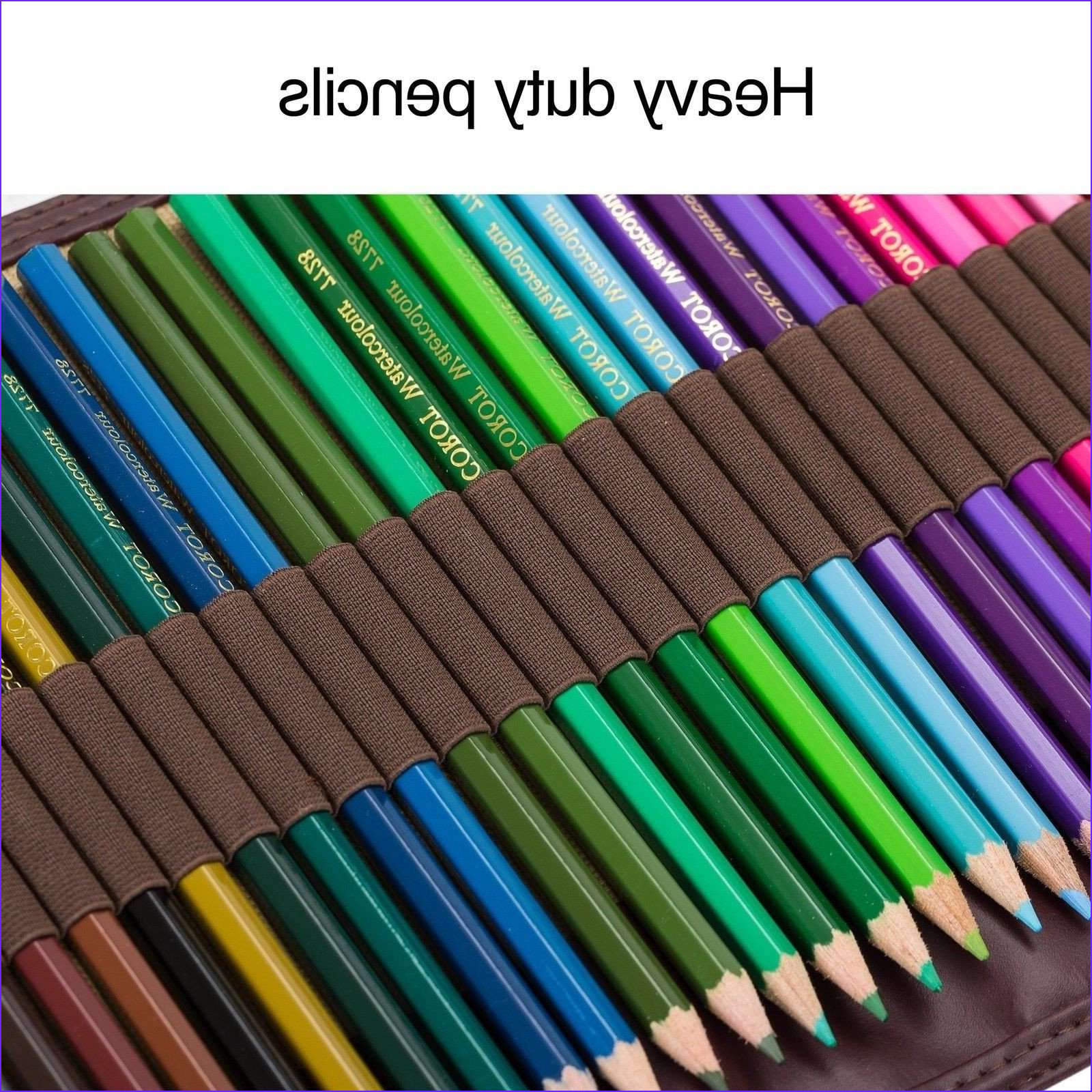 Water Coloring Kit Cool Photos Colored Pencils Kit Set 48 High Quality Professional