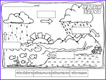 Water Cycle Coloring Pages Beautiful Collection Student The O Jays And Math On Pinterest