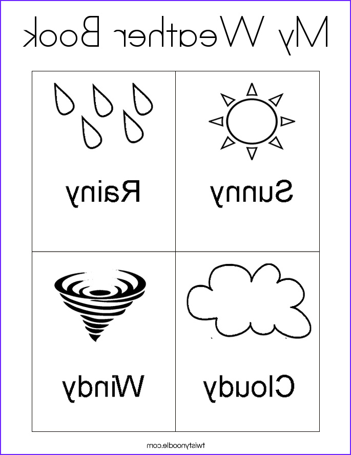 my weather book 6 coloring page