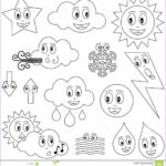 Weather Coloring Sheets Beautiful Gallery Weather Coloring Pages Preschool Coloring Home