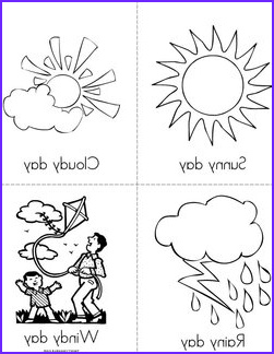 Weather Coloring Sheets Best Of Photos Weather Books Twisty Noodle