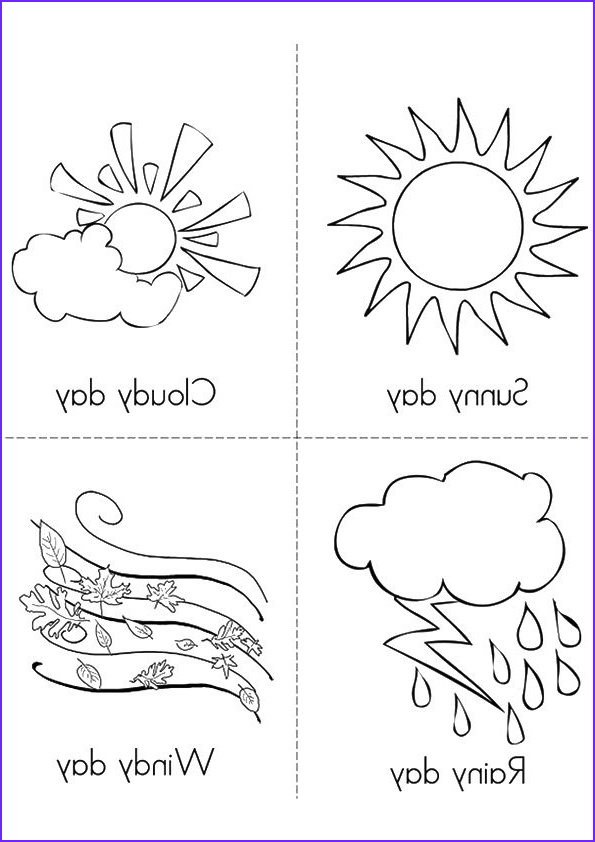 Weather Coloring Sheets Unique Gallery 11 Best Weather Images On Pinterest