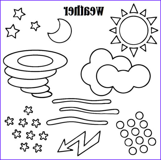 Weather Coloring Sheets Unique Gallery Waether Name List Coloring Picture