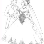 Wedding Coloring Pages Free Awesome Photos Kids N Fun